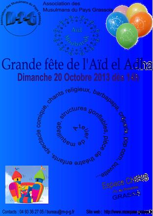 Aïd el Adha Affiche2013 s2