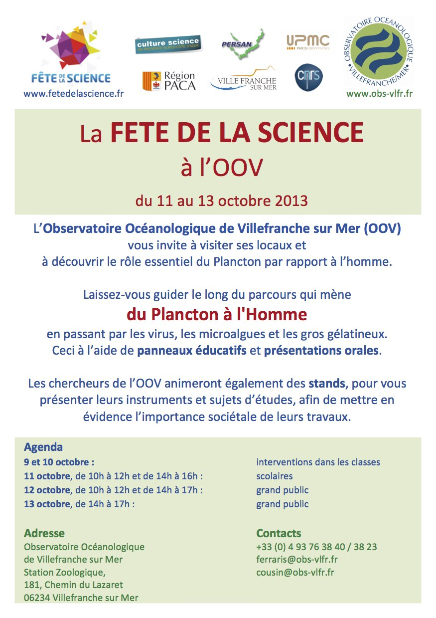 Fete sciences Villefranche 2013