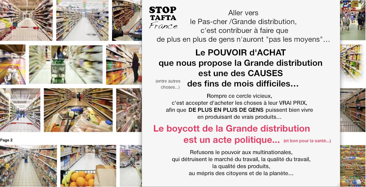 Boycott grande distribution