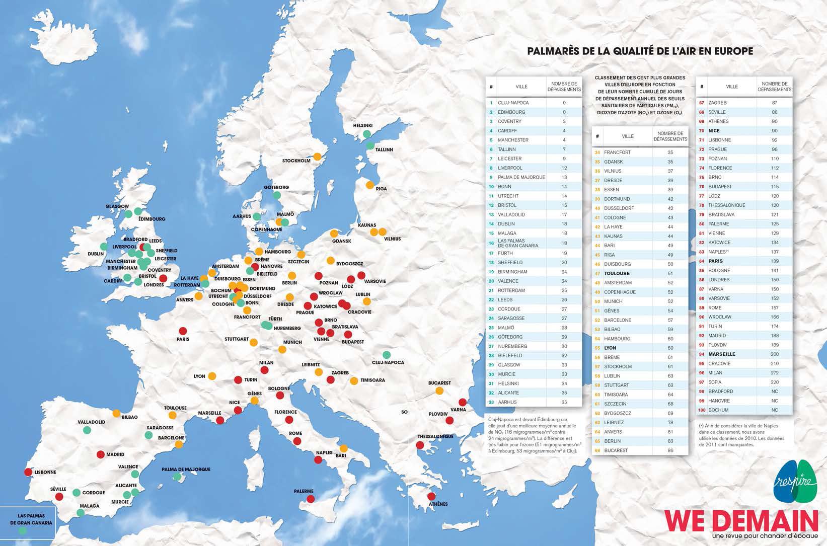 Carte-Classement-air-villes-europeennes-Respire-2014