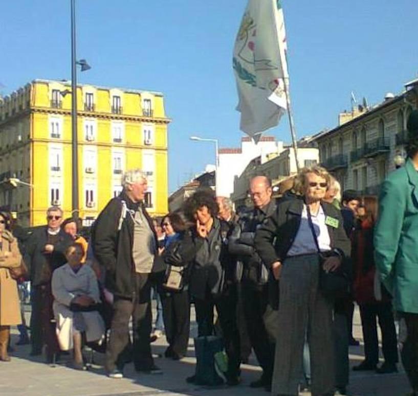 La Cuneo-Nizza Unisce manif 8 mars 14