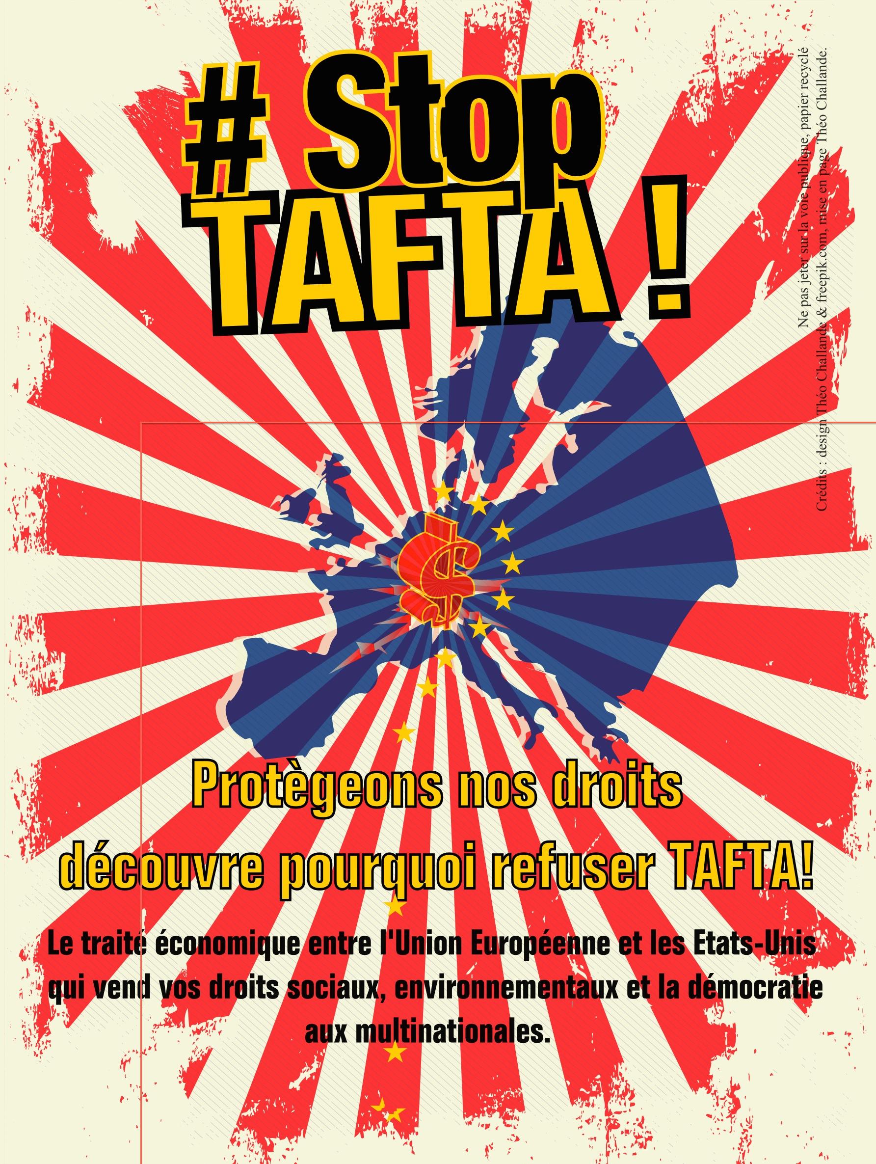 Tract STOP TAFTA P 1