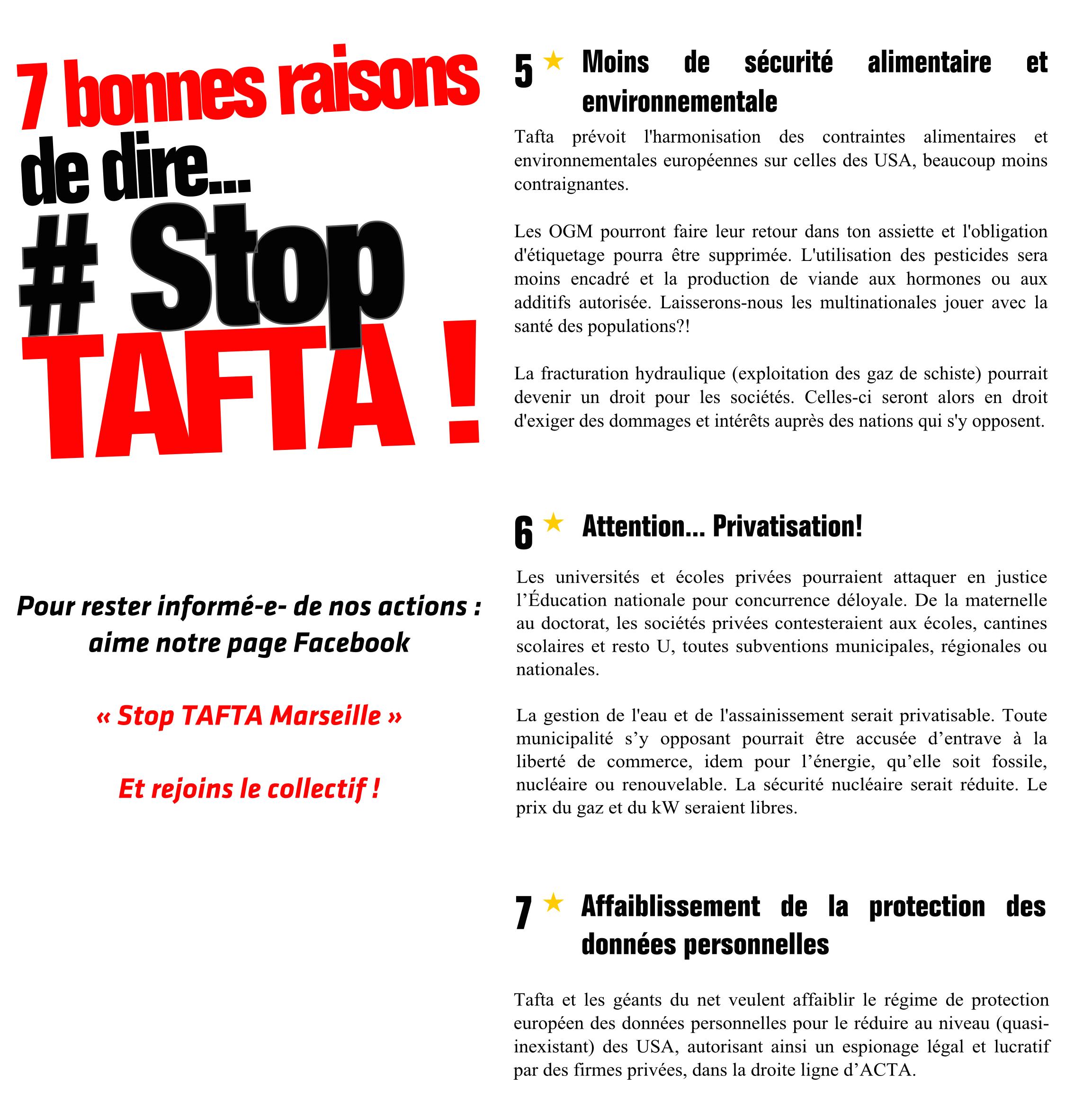Tract STOP TAFTA P 3